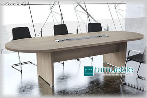 Mesa de Juntas para 8 Personas MJ-006 < TuMueble