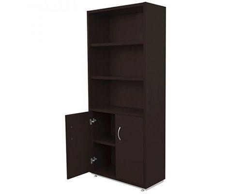Librero de Piso con Puertas inferiores SG-018