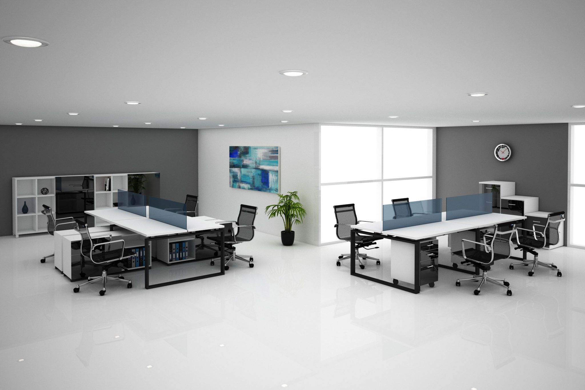 Elegantes Escritorios De Oficina Modernos.Tumueble Fabricantes De Muebles De Oficina En Guadalajara