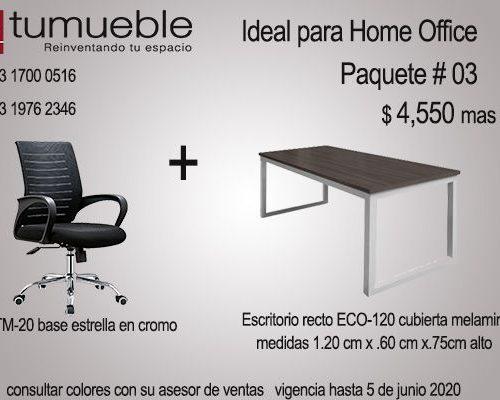 Home Oficce Paquete # 03