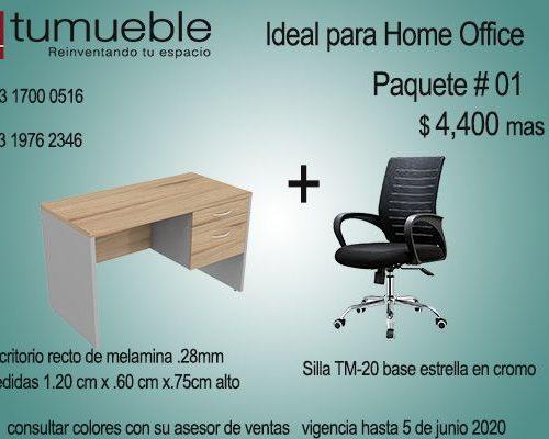 Home Oficce Paquete # 01
